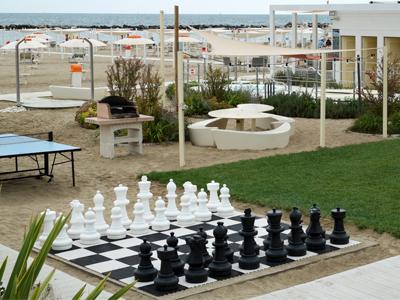 Riesiges Schachbrett